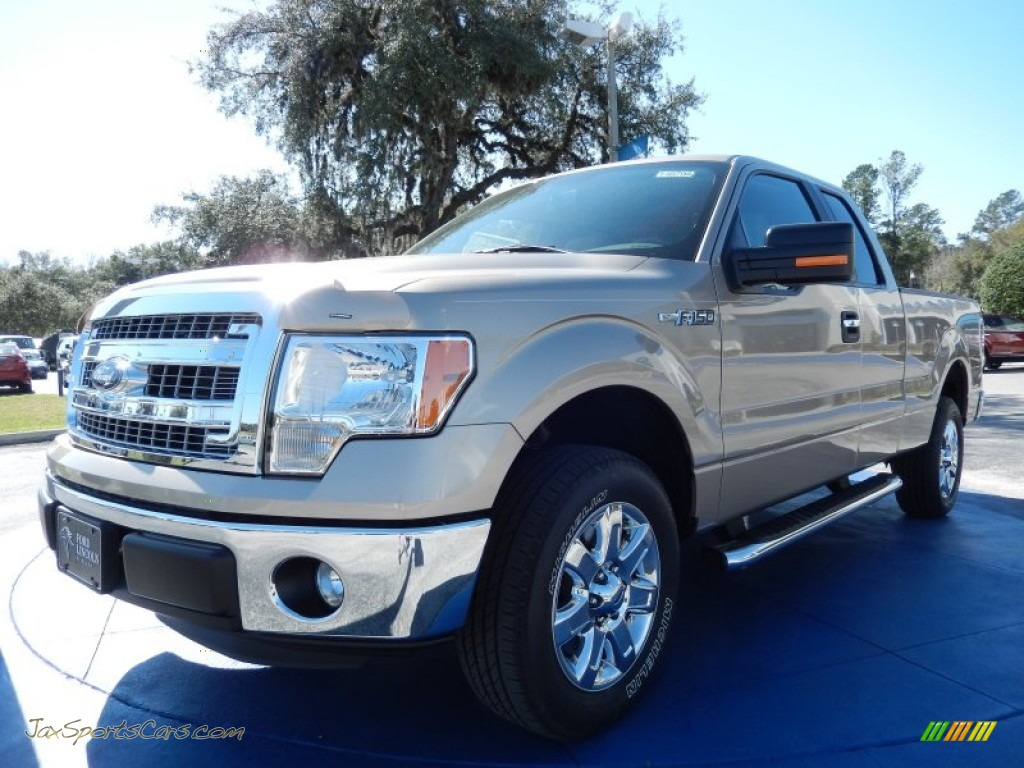 2014 ford f150 xlt supercab in pale adobe a82429 jax sports cars cars for sale in florida. Black Bedroom Furniture Sets. Home Design Ideas