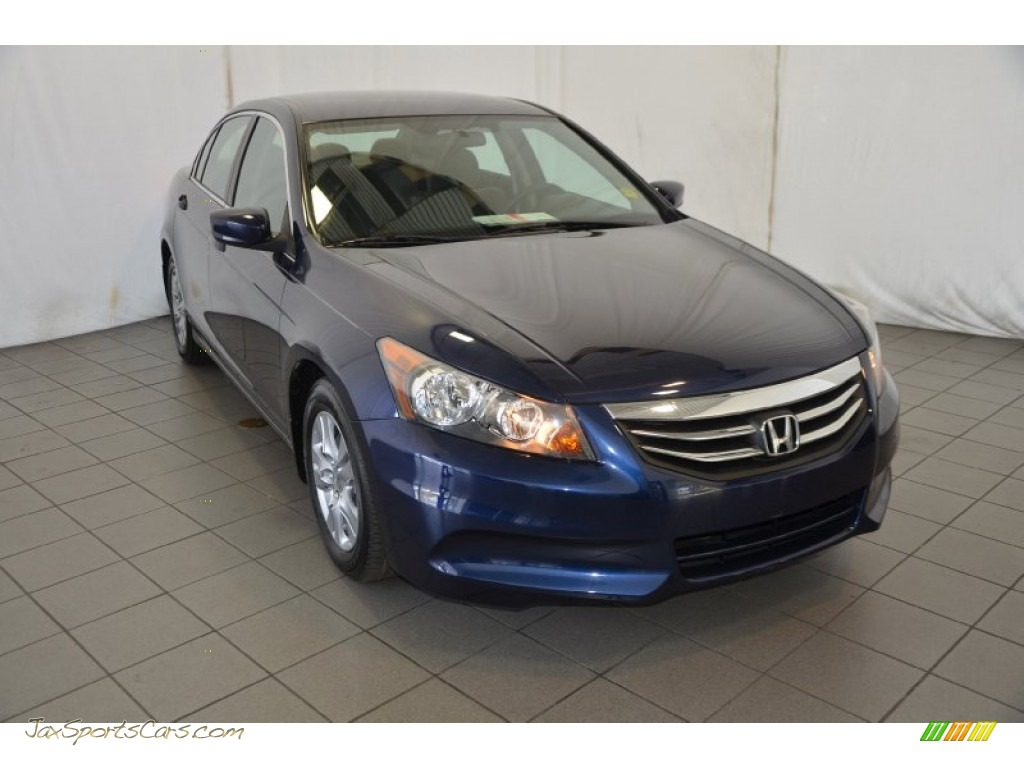 2011 Honda Accord Lx P Sedan In Royal Blue Pearl 080868