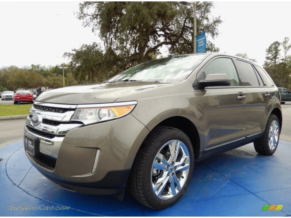 2014 Ford Edge SEL in Mineral Gray photo #8 - A32830 | Jax ...