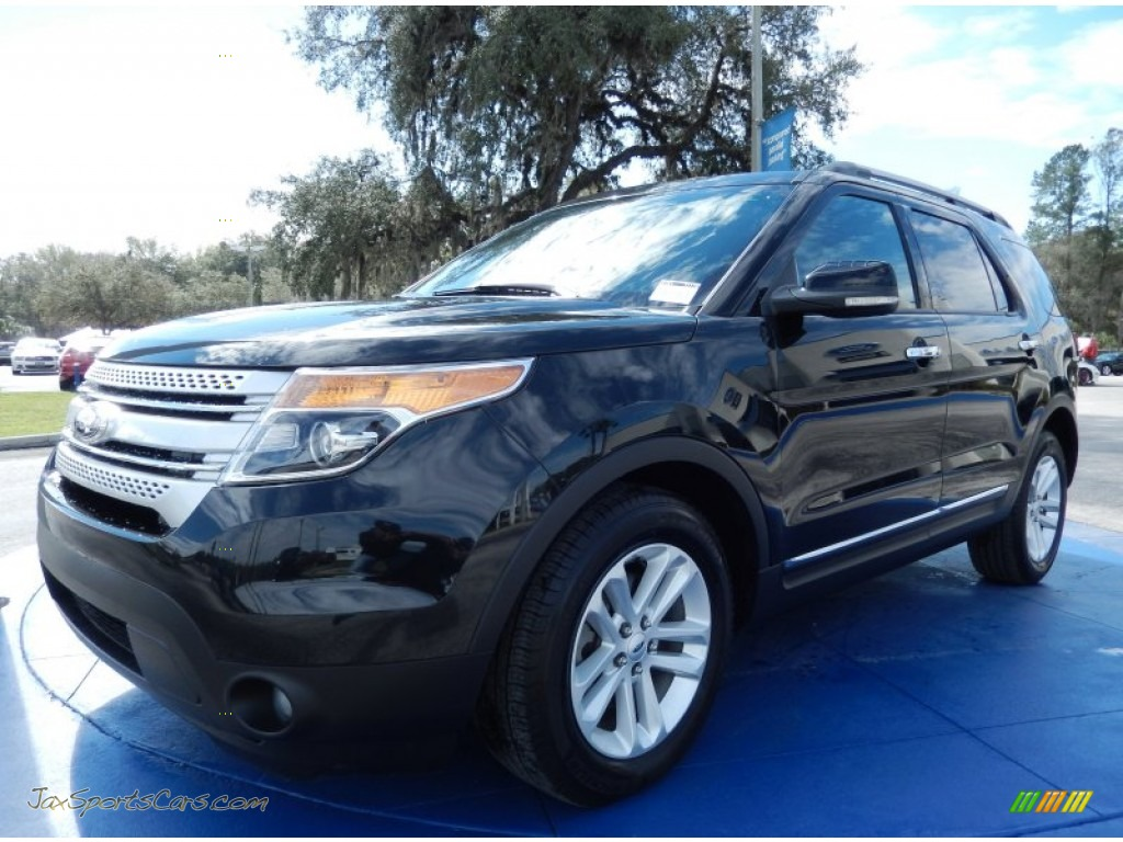 2013 ford explorer xlt in tuxedo black metallic a63860 jax sports cars cars for sale in. Black Bedroom Furniture Sets. Home Design Ideas