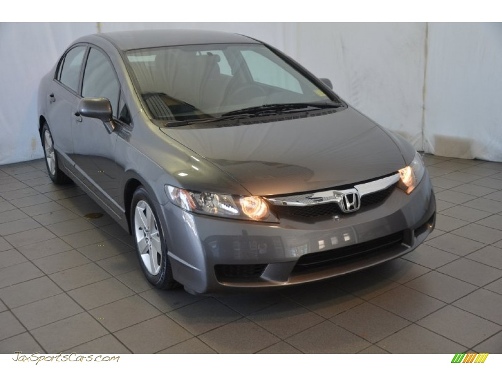 2011 Honda Civic Lx S Sedan In Polished Metal Metallic