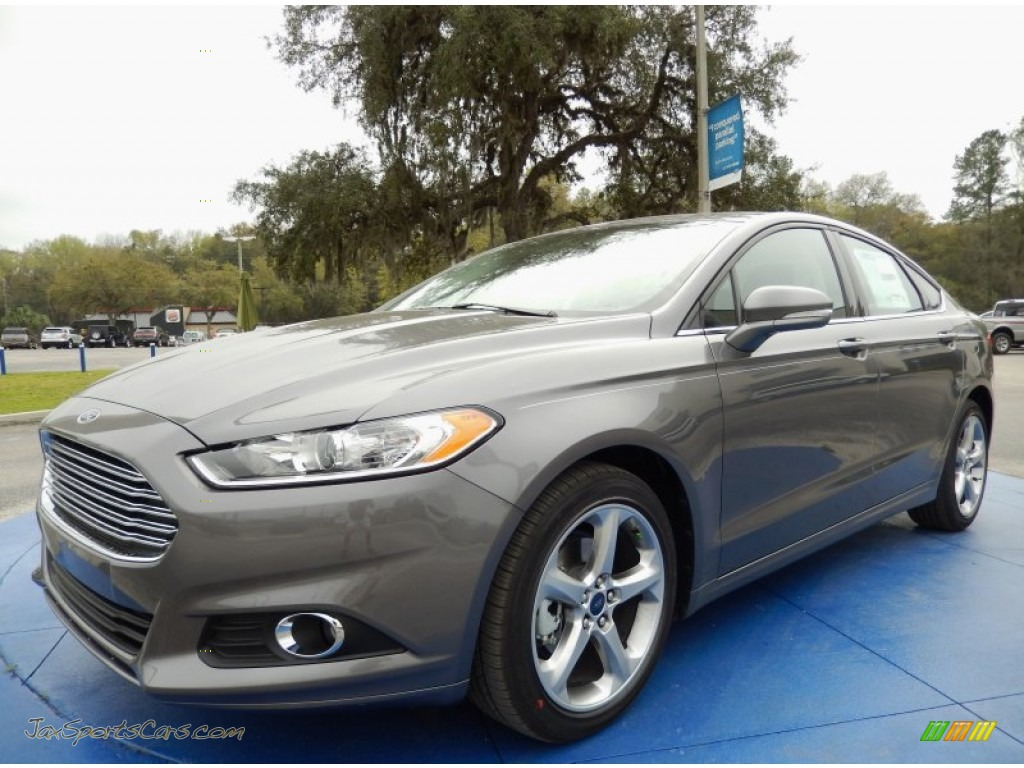 2014 ford fusion se ecoboost in sterling gray 286015 jax sports cars cars for sale in florida. Black Bedroom Furniture Sets. Home Design Ideas