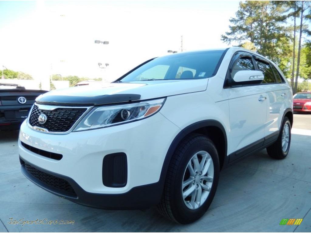 2014 kia sorento lx in snow white pearl 495121 jax sports cars cars for sale in florida. Black Bedroom Furniture Sets. Home Design Ideas