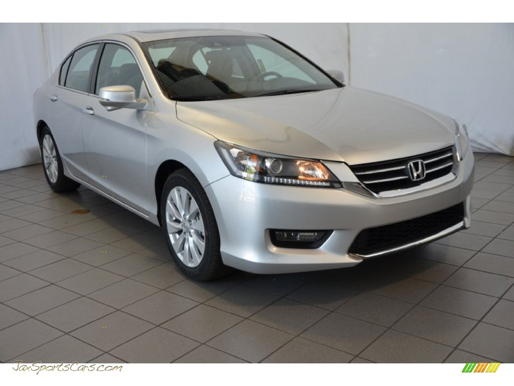 2014 honda accord ex l sedan in alabaster silver metallic 170890 jax sports cars cars for. Black Bedroom Furniture Sets. Home Design Ideas