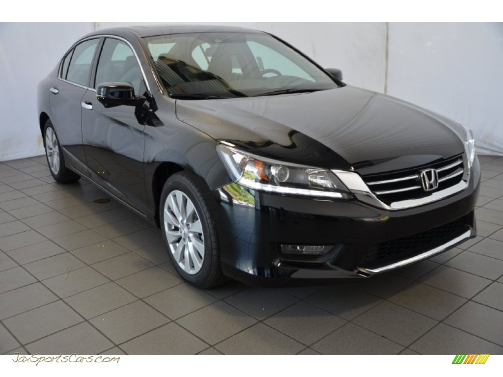 2014 Honda Accord Ex L V6 Sedan In Crystal Black Pearl