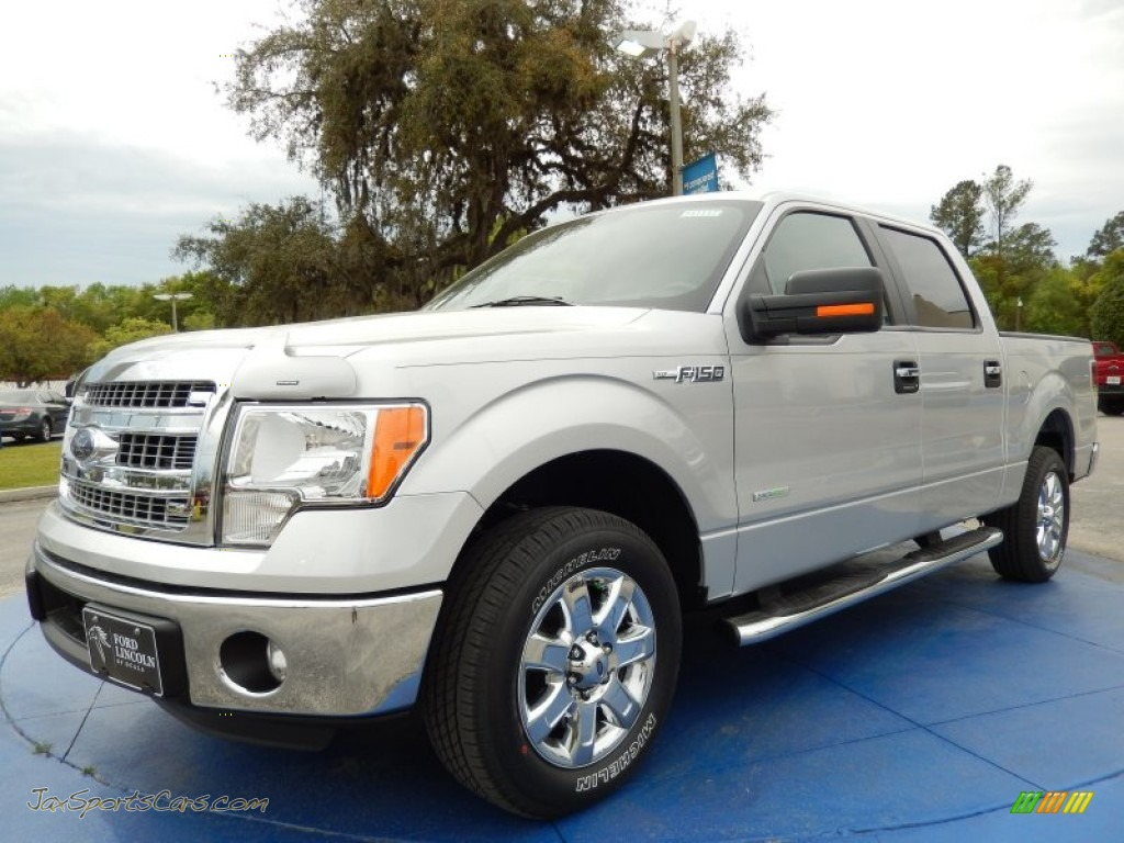 2014 ford f150 xlt supercrew in ingot silver b26158 jax sports cars cars for sale in florida. Black Bedroom Furniture Sets. Home Design Ideas