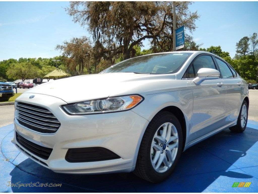 2014 ford fusion se ecoboost in ingot silver 396640 jax sports cars cars for sale in florida. Black Bedroom Furniture Sets. Home Design Ideas