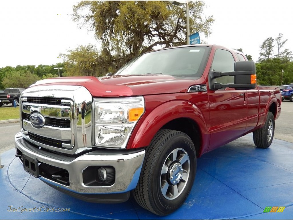 2015 ford f250 super duty lariat super cab in ruby red a08020 jax sports cars cars for. Black Bedroom Furniture Sets. Home Design Ideas