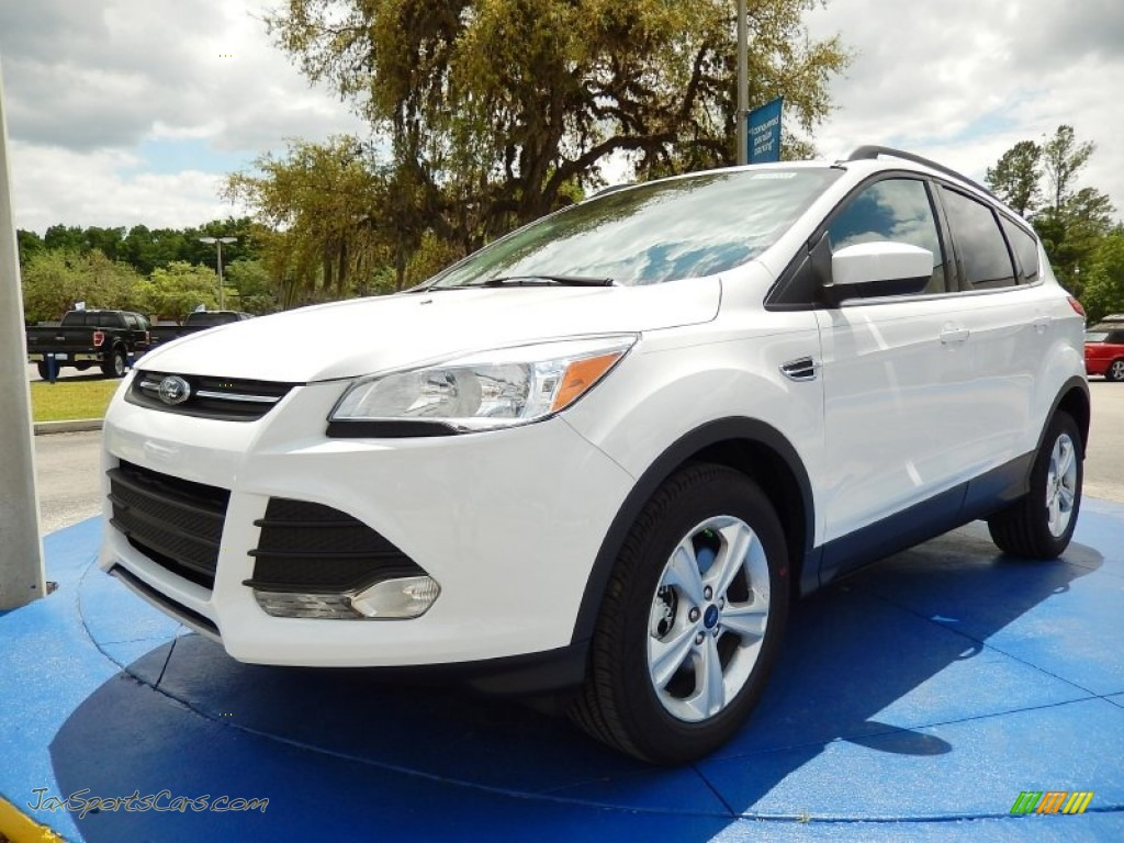 2014 ford escape se 2 0l ecoboost in oxford white c81907 jax sports cars cars for sale in. Black Bedroom Furniture Sets. Home Design Ideas