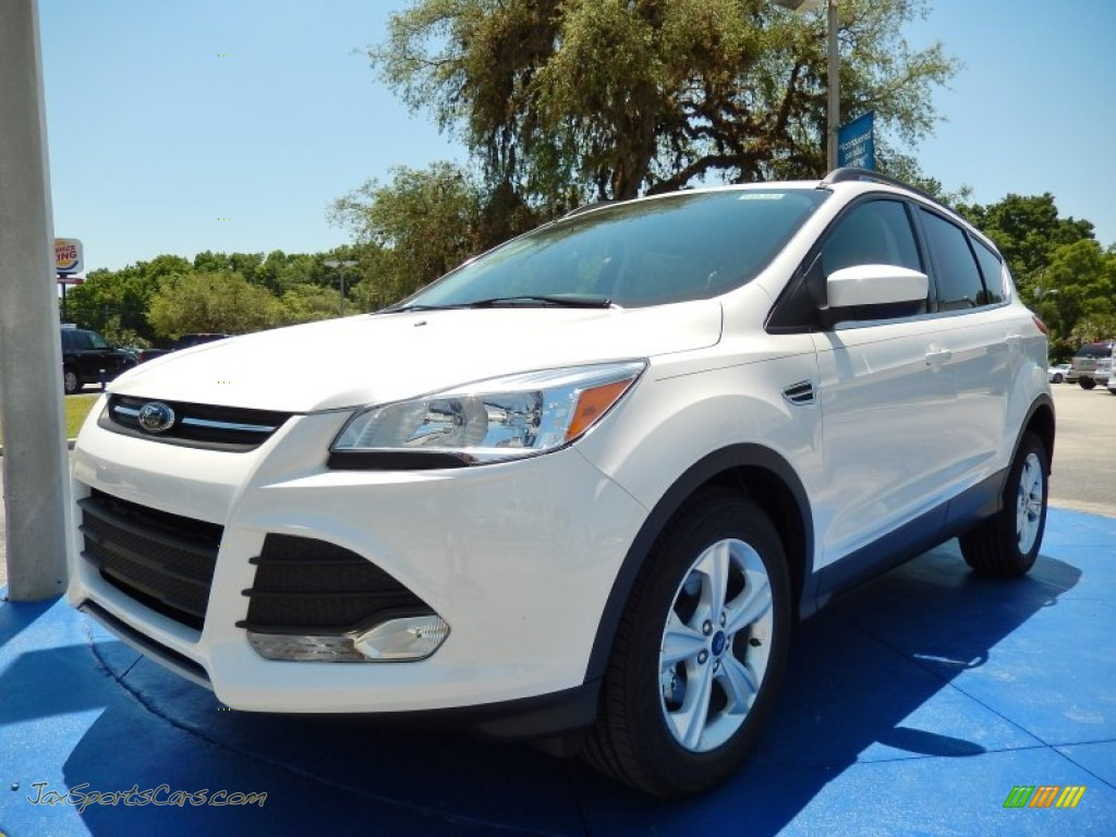 2014 ford escape se 1 6l ecoboost in white platinum d29658 jax sports cars cars for sale. Black Bedroom Furniture Sets. Home Design Ideas