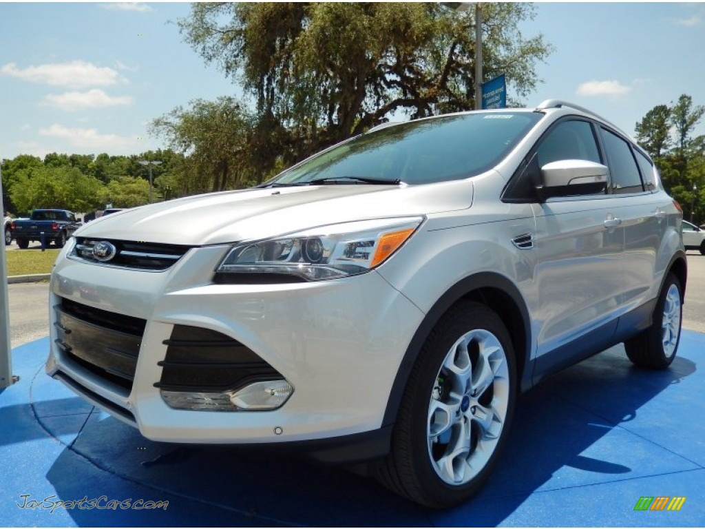 2014 ford escape titanium 1 6l ecoboost in ingot silver d49039 jax sports cars cars for. Black Bedroom Furniture Sets. Home Design Ideas