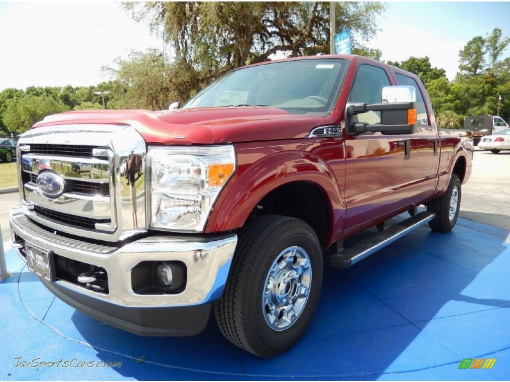 2015 ford f250 super duty xlt crew cab 4x4 in ruby red photo 8 a38140 jax sports cars. Black Bedroom Furniture Sets. Home Design Ideas