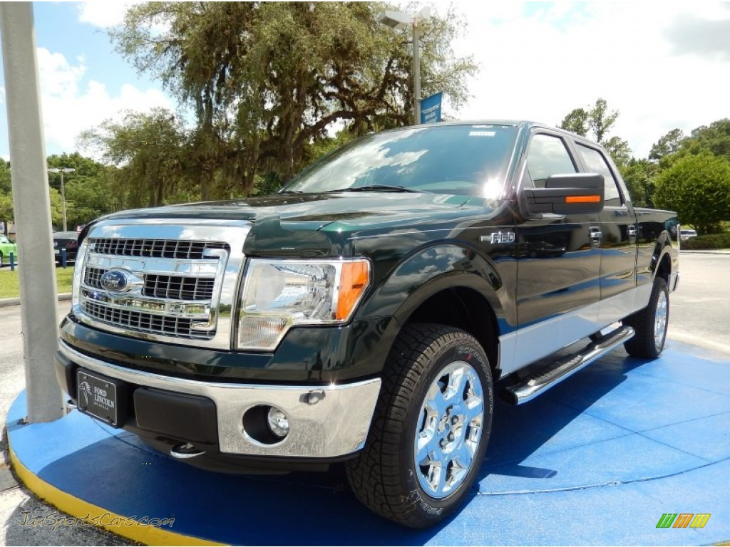 2014 ford f150 xlt supercrew 4x4 in green gem c05834 jax sports cars cars for sale in florida. Black Bedroom Furniture Sets. Home Design Ideas
