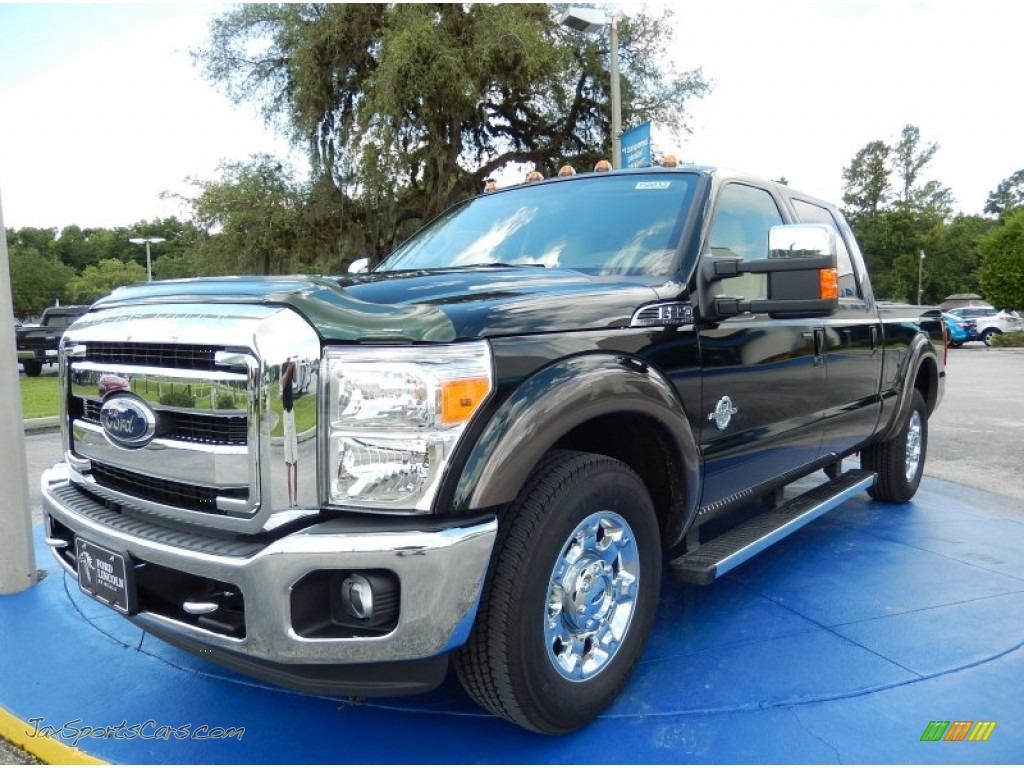 2015 ford f350 super duty lariat crew cab in green gem a74048 jax sports cars cars for. Black Bedroom Furniture Sets. Home Design Ideas