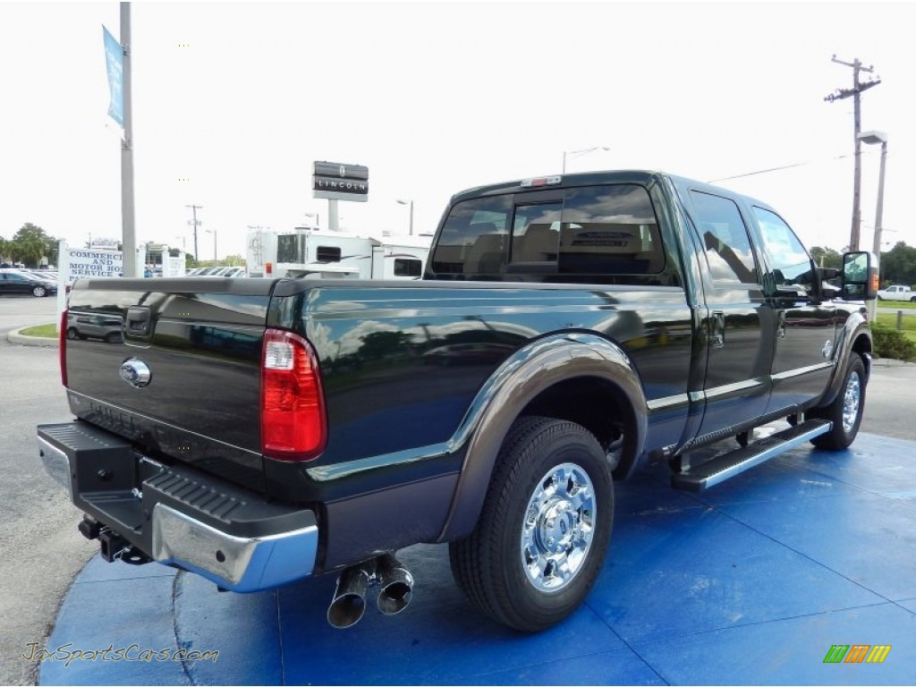 2015 ford f350 super duty lariat crew cab in green gem photo 3 a74048 jax sports cars. Black Bedroom Furniture Sets. Home Design Ideas