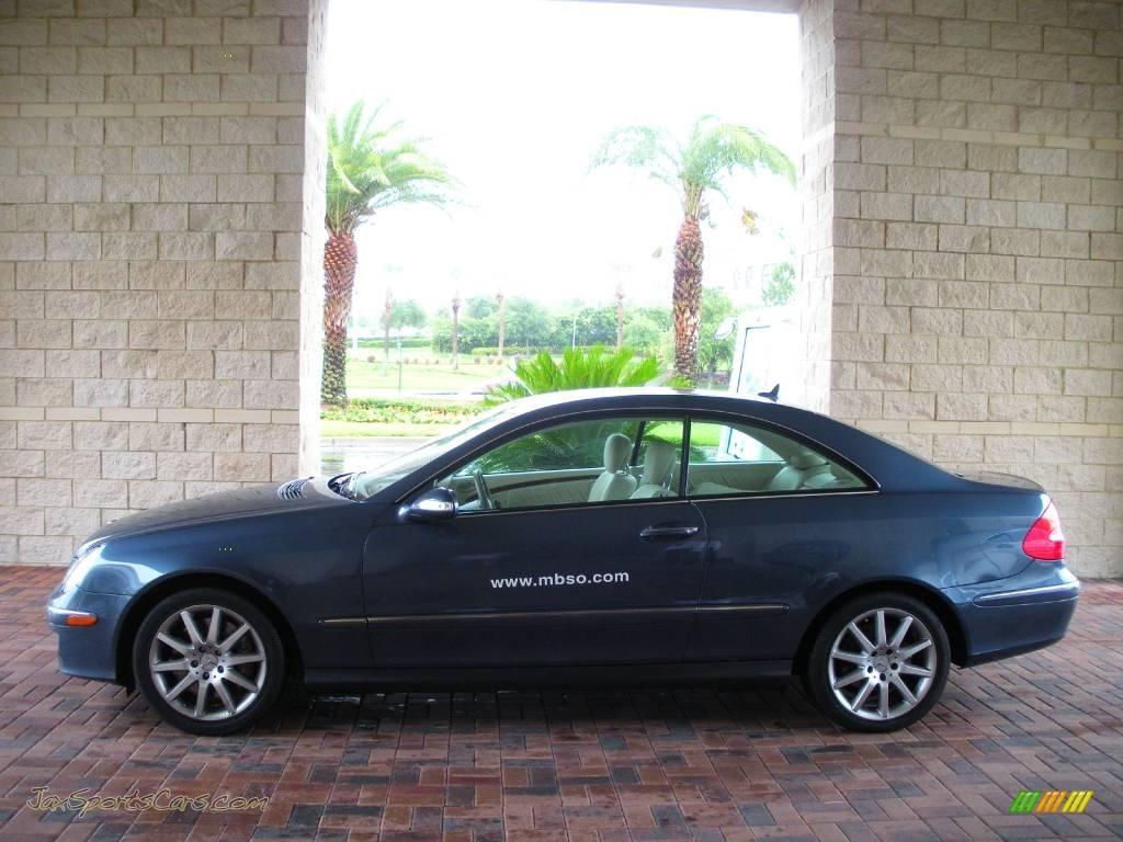 2007 mercedes benz clk 350 coupe in cadet blue metallic for 2007 mercedes benz clk350