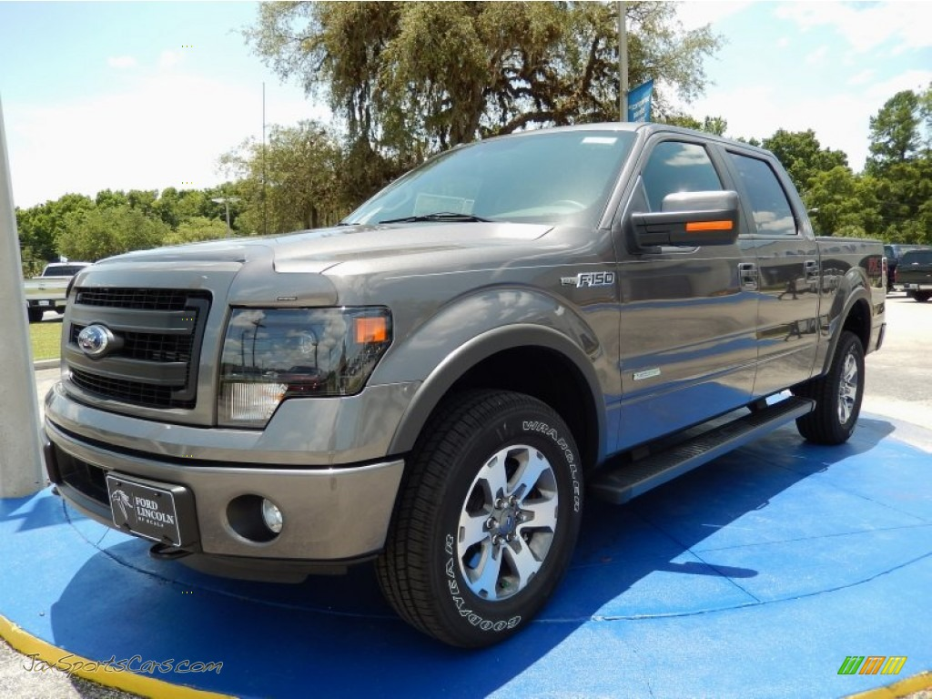 2014 Ford F150 Fx4 Supercrew 4x4 In Sterling Grey B95167
