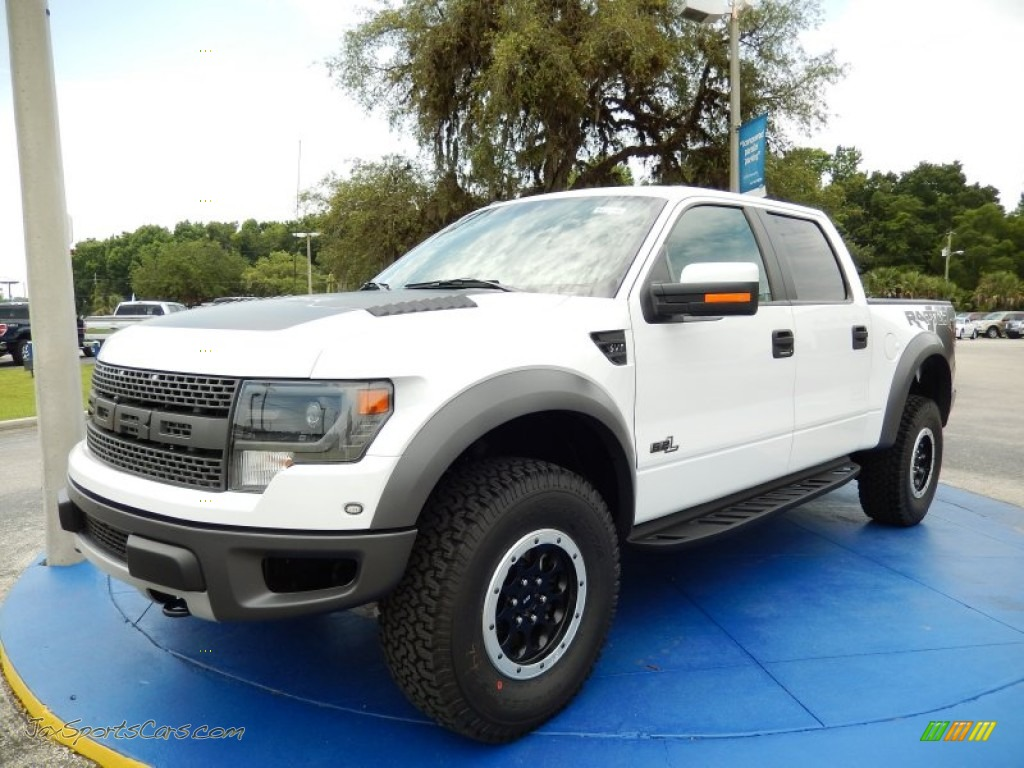 2014 Ford F150 Svt Raptor Supercrew 4x4 In Oxford White