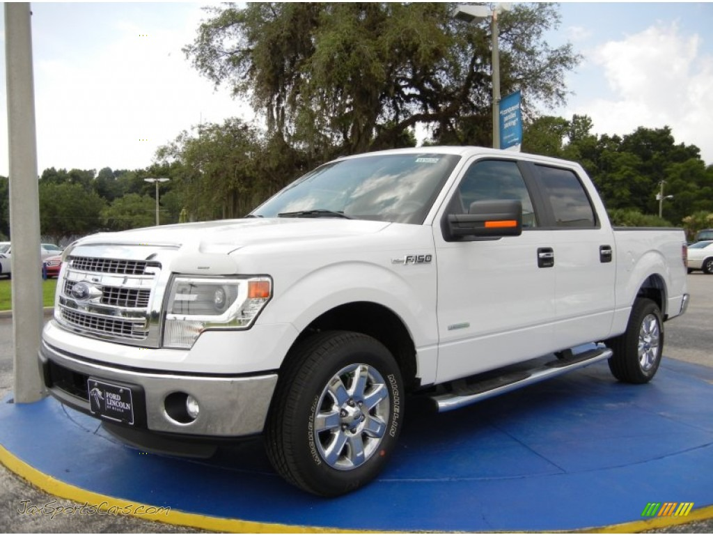 2014 ford f150 xlt supercrew in oxford white c63425 jax sports cars cars for sale in florida. Black Bedroom Furniture Sets. Home Design Ideas