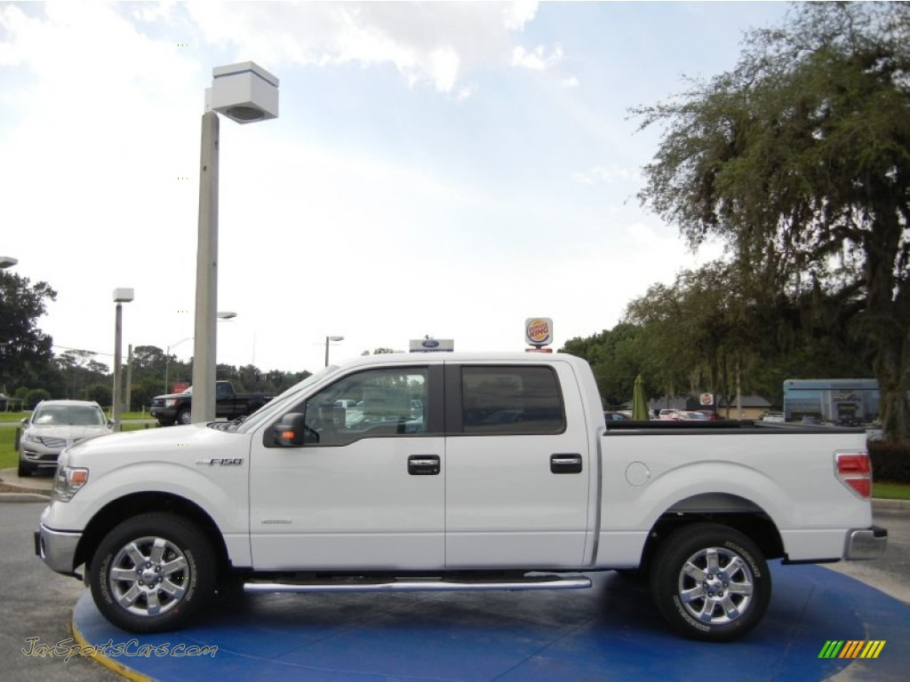 2014 ford f150 xlt supercrew in oxford white photo 2 c63425 jax sports cars cars for sale. Black Bedroom Furniture Sets. Home Design Ideas