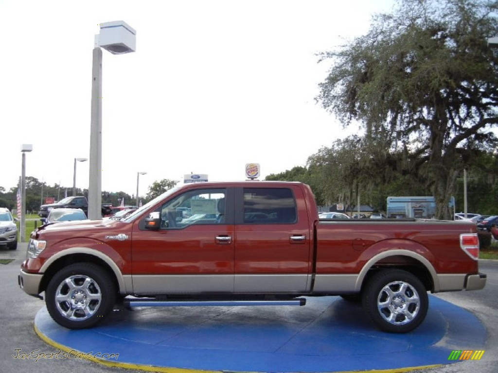 2014 ford f150 king ranch supercrew in sunset photo 2 e29818 jax sports cars cars for. Black Bedroom Furniture Sets. Home Design Ideas