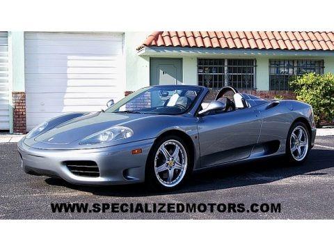 Grigio Titanio Metallic 2004 Ferrari 360 Spider F1